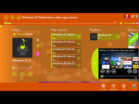 Windows 8.1 Media player lite app review windows store