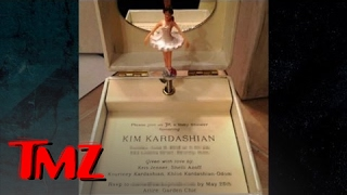 Kim Kardashian's Baby Shower -- Over-the-Top Invitation | TMZ