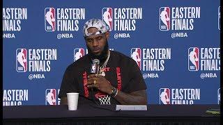 LeBron James Postgame Interview - Game 6 | Cavaliers vs Celtics | 2018 NBA East Finals