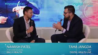 Naimish Patel Interview @ 2018 Digital Health & Fitness LIVE
