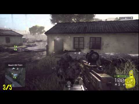 Battlefield 4: Dog Tag / Weapon Locations - Tashgar Mission - HTG