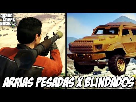 GTA V Armas Pesadas X BLINDADOS será que tem como