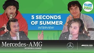 Download Lagu 5 Seconds of Summer on New Music, Puppies, and Secret Talents | Elvis Duran Show Gratis STAFABAND