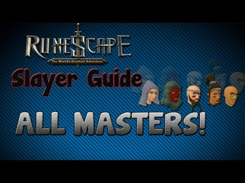 """Runescape 07″ – Slayer guide #2: Slayer Masters!"