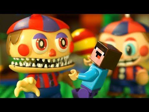 Пять Ночей с Фредди и Лего НУБик Майнкрафт Мультики Все Серии Подряд Мультфильмы для Детей ИГРУШКИ
