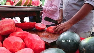Most Popular Watermelon Vendor in Hyderabad | #watermeloncutting | #fruitninja | Mint Compound