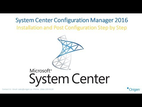 System Center Configuration Manager 2016 Installation and Post Configuration Step by Step