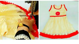 Easy baby dress cutting and stitching with very easy method in Hindi