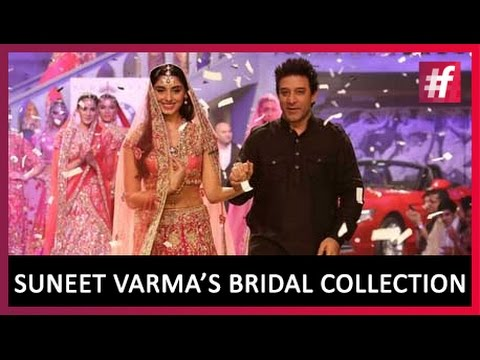 Suneet Varma's Dazzling Bridal Collection | BIBFW | Live on #fame