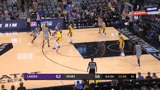 Los Angeles Lakers vs San Antonio Spurs 2nd Half Only Highlights | October 27 2018 | Showtime