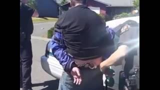 Trộm xe moto pkl bị bắt gặp chạy trên đường và ăn đạp | MotoSaigon.vn