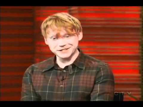 Rupert Grint at LIVE! with Regis and Kelly July 11th 2011