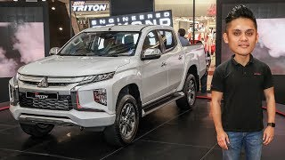 FIRST LOOK: 2019 Mitsubishi Triton facelift - from RM100k