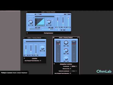 Audio Limiters Explained - Creating Tracks
