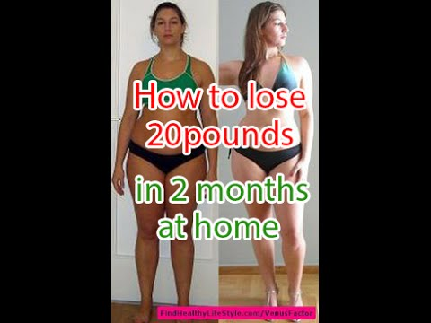How To Lose 20 Pounds in 2 Months at Home