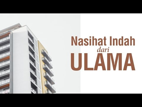 Nasihat Indah dari Ulama - Syaikh Abdurrahman Al-Aydan