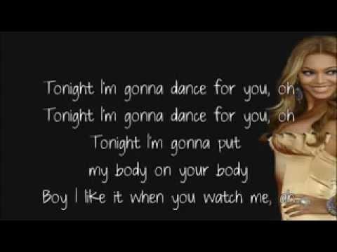 I love to watch you dance lyrics