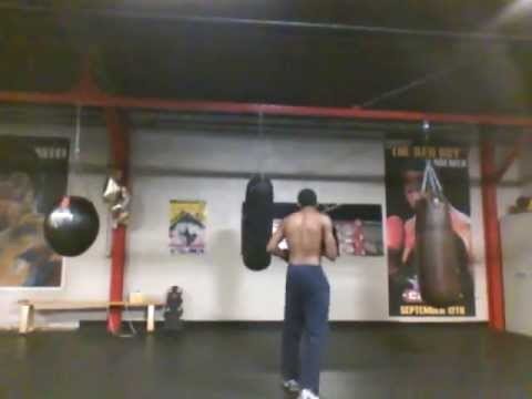 5/25 Prof. X Boxing Punching Bag Work