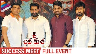 Jai Lava Kusa Success Meet Full Event | Jr NTR | Raashi Khanna | Nivetha Thomas | DSP