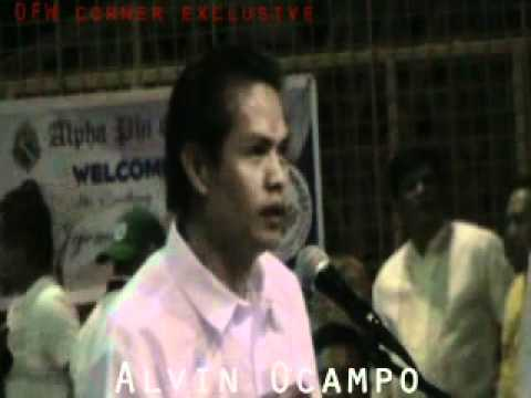 Vice President Jejomar Binay - Open forum / OFW lack of Interpreter