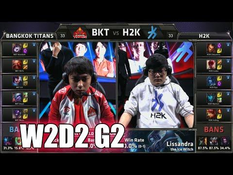 Bangkok Titans vs H2K Gaming   Week 2 Day 2 Group C LoL S5 World Championship 2015   BKT vs H2K G2