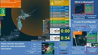 Japan Earthquake M7.0, Max. Intensity 4 (Off Hokkaido)