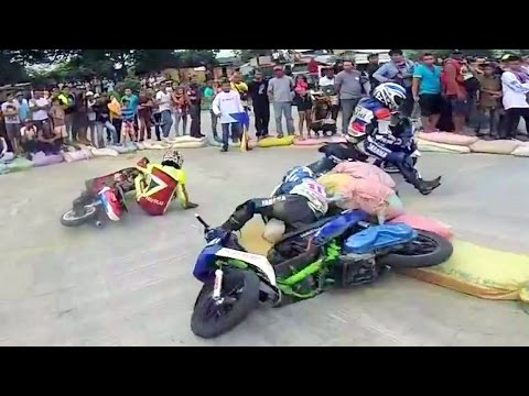 SCOOTER RACING that turns into a BOXiNG FIGHT !