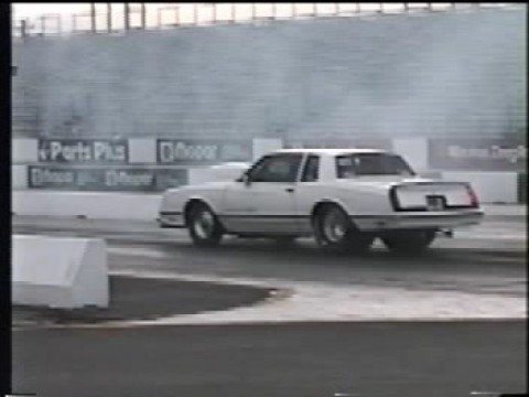 Monte Carlo Drag Car