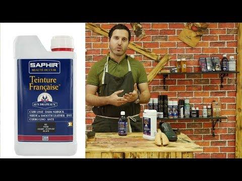 Saphir Teinture  Профессиональная Краска для кожи и замша