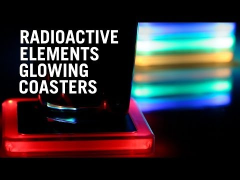 Uploaded by thinkgeek - Radioactive coasters ...