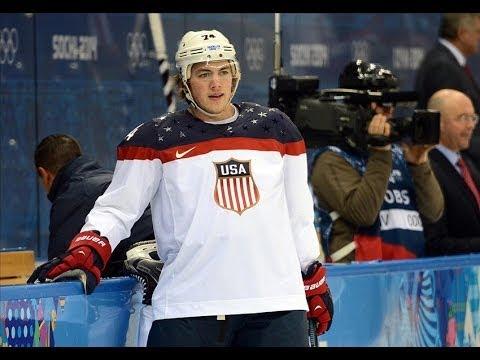 Men's Ice Hockey TJ Oshie Scores GAME WINNER at SOCHI - Post Game Interivew