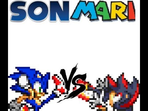 Sonmari Battles: Sonic Vs Shadow