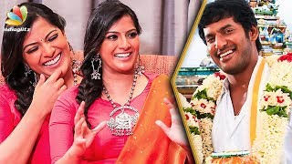 When is Vishal's Wedding ? : Varalaxmi Hilarious Interview | Sandakozhi 2
