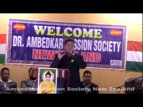 Dr. B R Ambedkar Jayanti in New Zealand........Balwinder Bittu...
