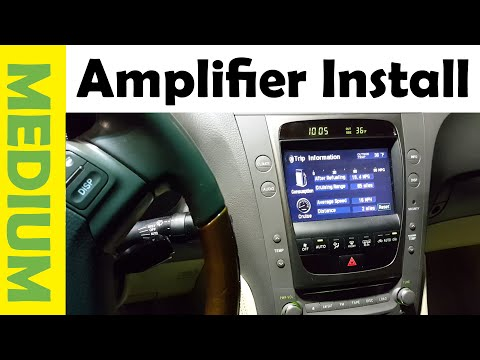 How To Install Amplifier & Subwoofer in Any Car