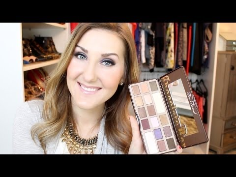 Chocolate Bar Palette Tutorial & Review- Candied Violet