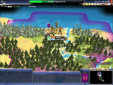 Let's Play Civilization 4 Beyond the Sword Part 1 ( A New Beginning)