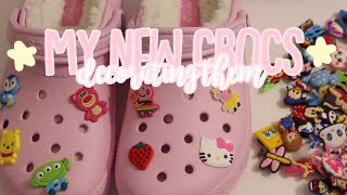 My New CROCS + Decorating Them!