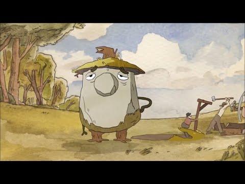 Необычная жизнь обычной скалы. Короткометражка. Мультфильм. Мульт