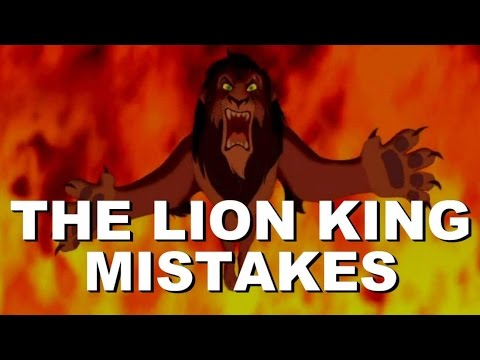 Disney's The Lion King Movie Mistakes, Spoilers, Bloopers, Goofs and Fails