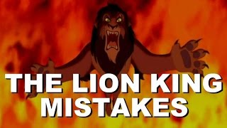 DISNEY THE LION KING MOVIE MISTAKES You Missed | The Lion King Goofs