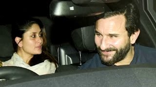 Kareena Kapoor And Saif Ali Khan   Visit Shashi Kapoor For Lunch