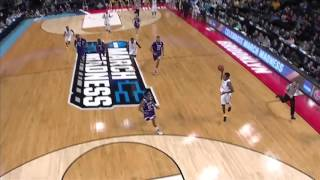 SFA vs. West Virginia: Daxter Miles Jr. and-one