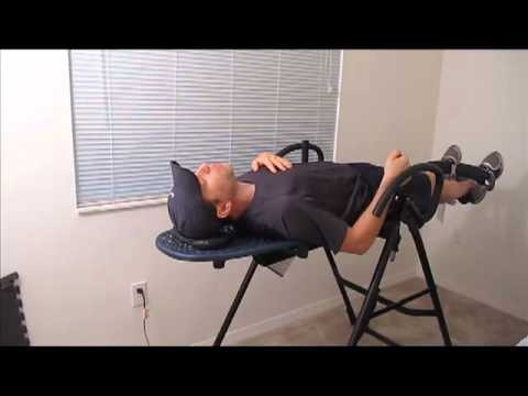 Teeter Hang Ups Inversion Table - How I Invert on my table.