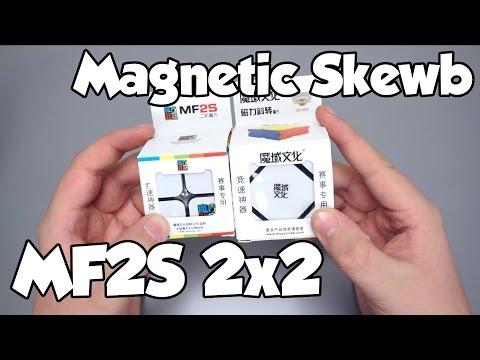Moyu Magnetic Skewb + MF2S 2x2 Unboxing! | TheCubicle.us