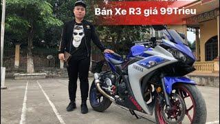 Bán Xe Yamaha R3 | Giá 99trieu | Máy chất | Độ đồ chơi cơ bản | Tài Pô Độ | 0947.22.1234