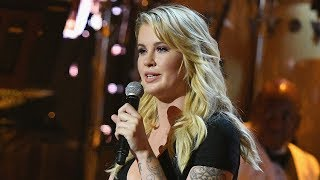 WATCH: Ireland Baldwin Jokes About Infamous 'Pig' Voicemail During Dad Alec's 'One Night Only' Roast