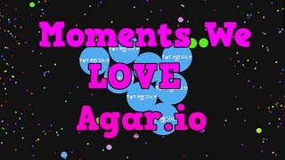 Moments We LOVE Agar.io (wow)