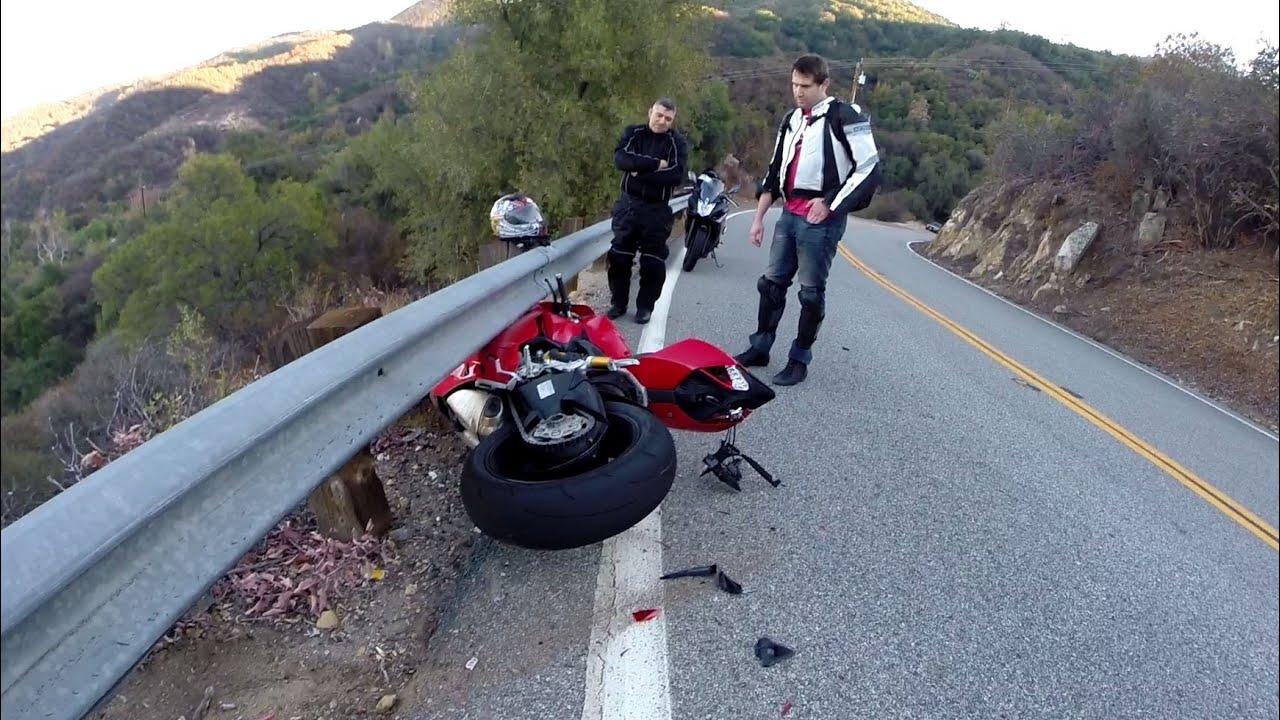 Ducati Accident