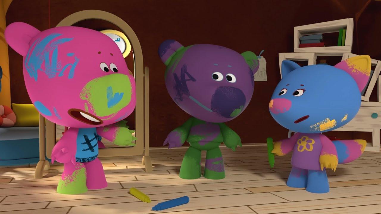 Ми-ми-мишки - Мишка-невидимка - Серия 29 - Прикольные мультики про мишек.